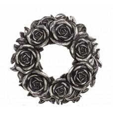 Black Rose Wreath