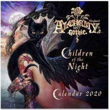 Alchemy Gothic 'Children of the Night' 2020 Wall Calendar