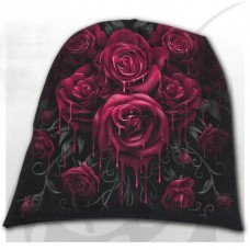 BLOOD ROSE - Light Cotton Beanie