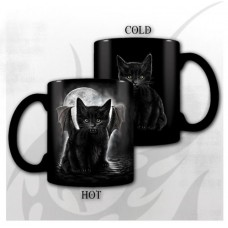 BAT CAT - Heat Change Ceramic Coffee Mug