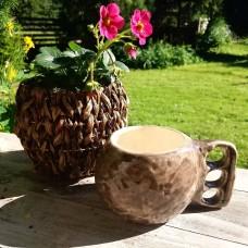 Ceramic mug Kuksa