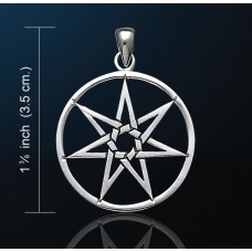 Elven Star Pendant (Silver Plated)