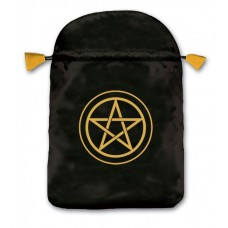 Pentacle tarot bag