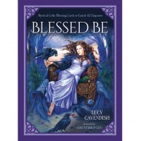 Blessed Be -Mystical Celtic Blessing Cards to Enrich & Empower  -Lucy Cavendish Artwork by Jane Starr Weils