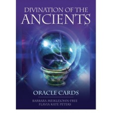 DIVINATION OF THE ANCIENTS Oracle Cards Richard Crookes , Barbara Meiklejohn-Free , Flavia Kate Peters