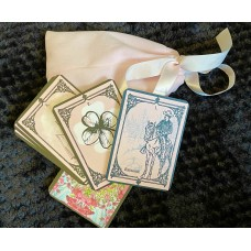 Pink Lenormand cards