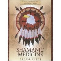 Shamanic Medicine Oracle Cards -Barbara Meiklejohn-Free, Flavia Kate Peters, Yuri Leitch