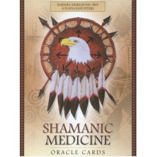 Shamanic Medicine Oracle Cards -Barbara Meiklejohn-Free, Flavia Kate Peters, Yuri Leitch