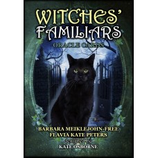 WITCHES' FAMILIARS ORACLE CARDS - Barbara Meiklejohn-Free, Flavia Kate Peters and Kate Osborne