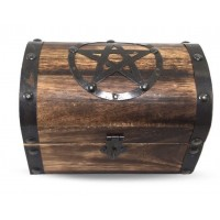 Pentacle - wooden box