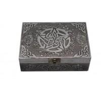 Celtic Pentacle Aluminum Box