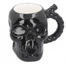 Skull Muggery -Skull Pipe Mug