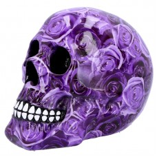 Purple Romance skull
