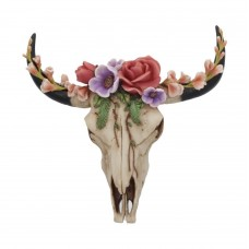 Floral Wilderness buffalo scull