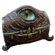 Ruby Dragon Eye Trinket Box 16.5cm