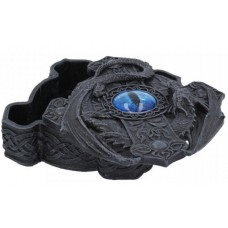 Ice Dragon Eye Trinket Box 16.5cm