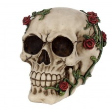 Rose From Beyond 15cm skull