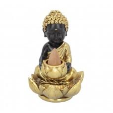 Baby Buddha Backflow Incense Burner 10.3cm