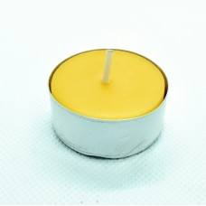 Tealight from beeswax