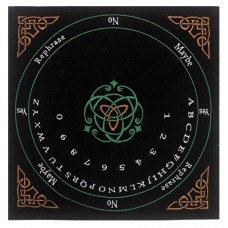 Velvet Pendulum Mat English -Celtic In Colors