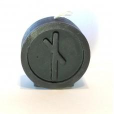 NAUTHIZ Runecandle made of beeswax