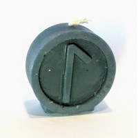 LAGUZ Runecandle made of beeswax