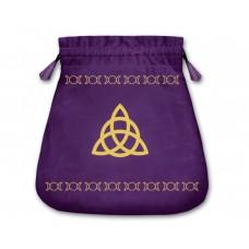 Mini tarot bag Triquetra
