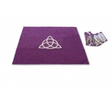 Tarot cloth with triquetra