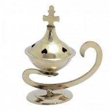 Brass Burner - Heart Design